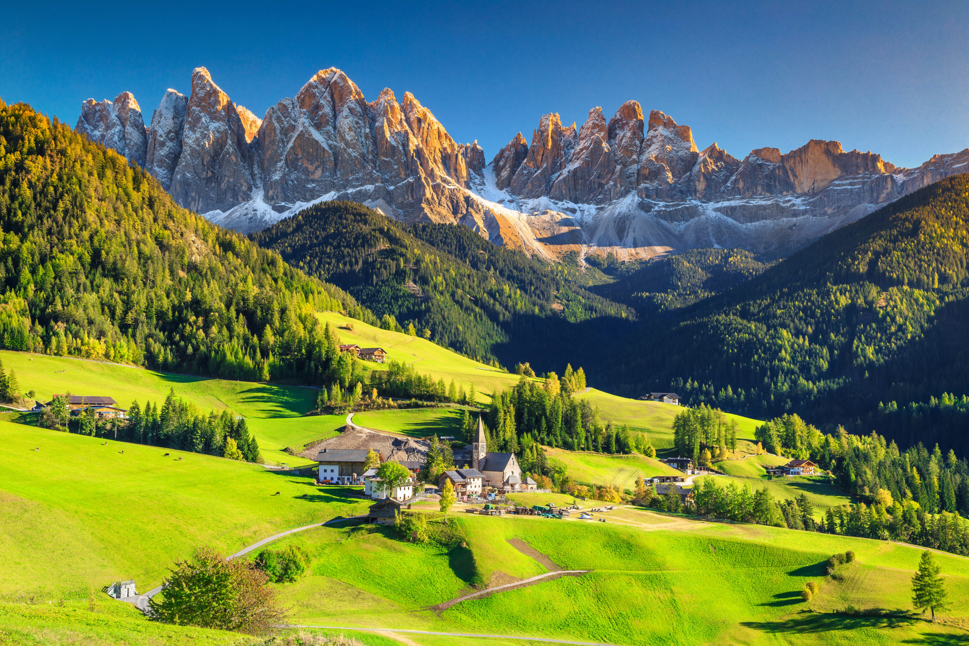 Dolomites Mountain Italy